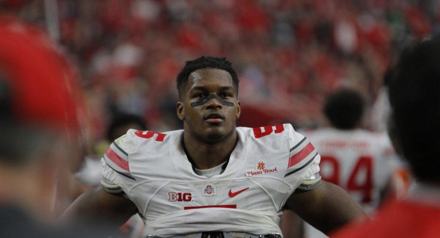 Raekwon McMillan is one of Ohio State's three returning defensive starters.