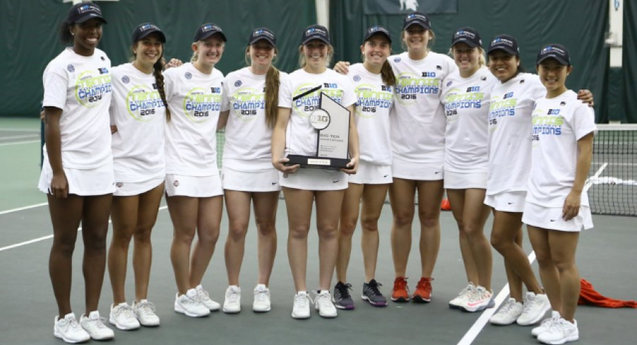 Around the Oval: Women's Tennis Wins First B1G Tournament ...