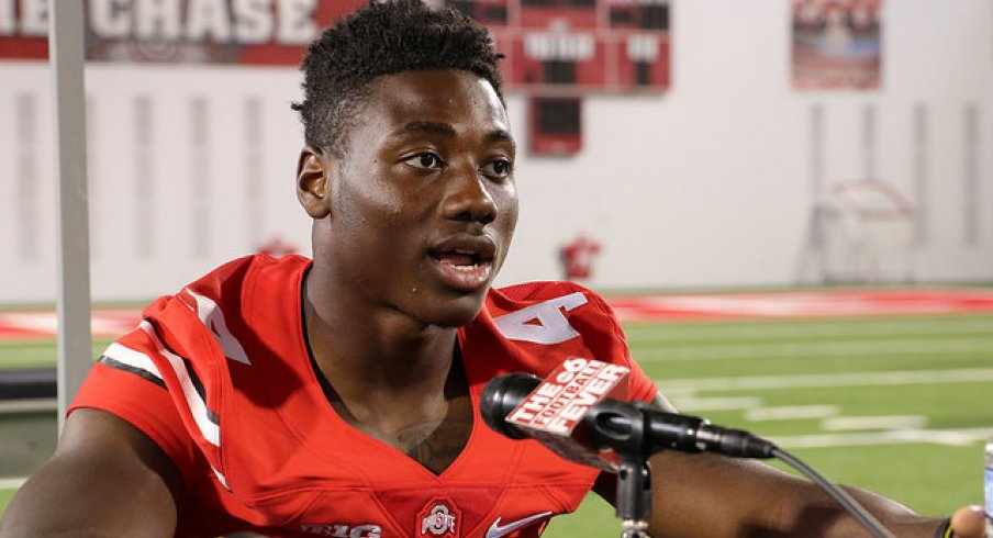 Curtis Samuel is all ears for the May 5th 2016 Skull Session