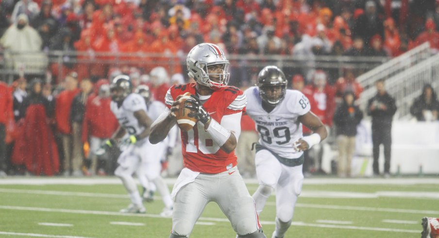 J.T. Barrett's experience against MSU in 2015 was far different than the year prior