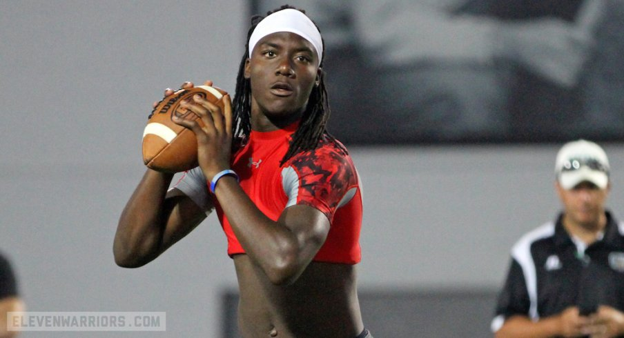 2018 Quarterback Target Emory Jones Ohio State Is Probably My Leader Right Now Eleven Warriors