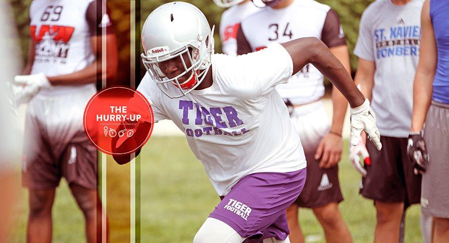 Trenton Gillison at Ohio State on Tuesday