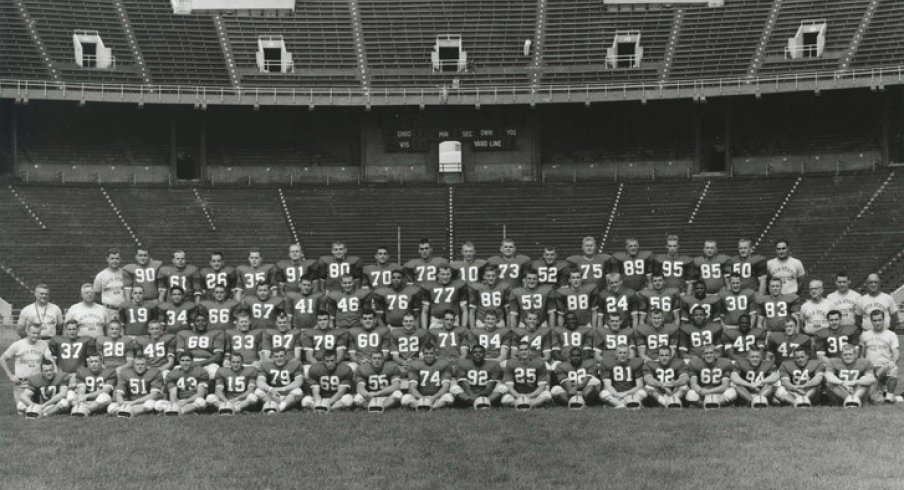 The 1958 Ohio State University football team.