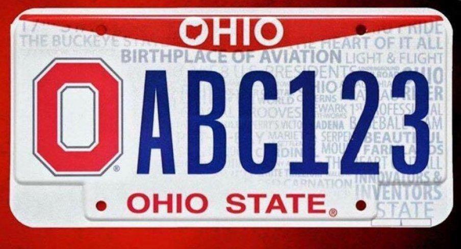 Ohio State Releases New Buckeye Vanity Plates
