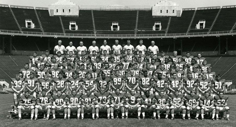 The 1967 Ohio State University football team.