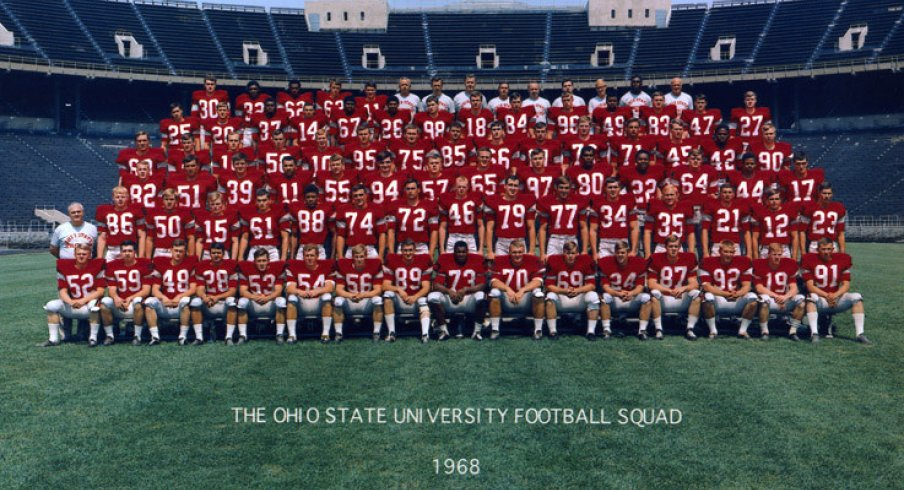 The 1968 Ohio State University Football team.