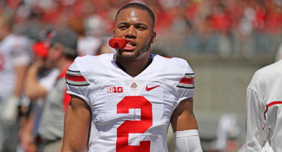 Marshon Lattimore is competing for a starting cornerback position.