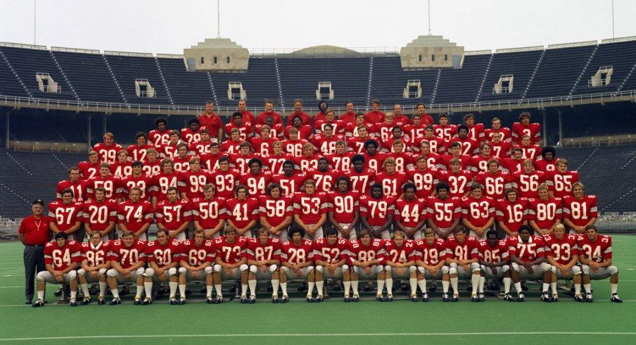 The 1971 Ohio State University football team.