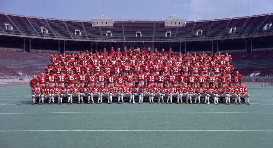 The 1974 Ohio State University football team.