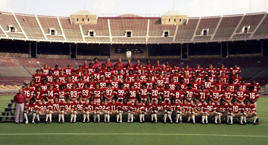 The 1977 Ohio State University football team.