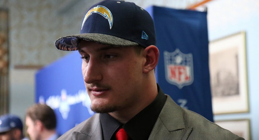 Joey Bosa San Diego Chargers hold out begins.