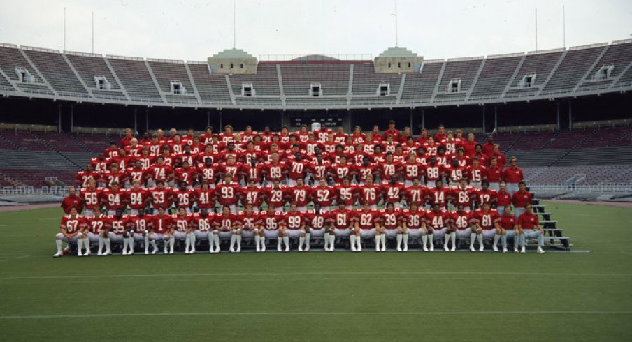 The 1981 Ohio State University football team.