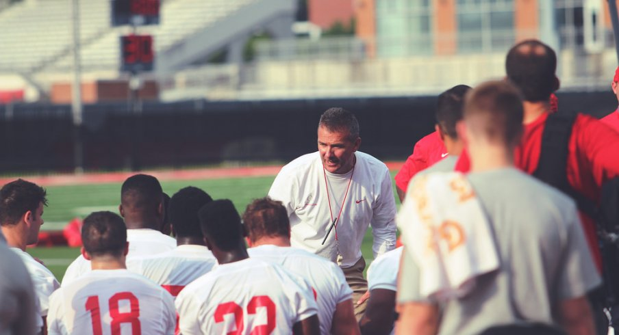 Urban Meyer is preparing for his fifth training camp at Ohio State.