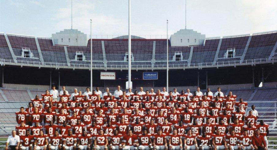 The 1992 Ohio State University football team.