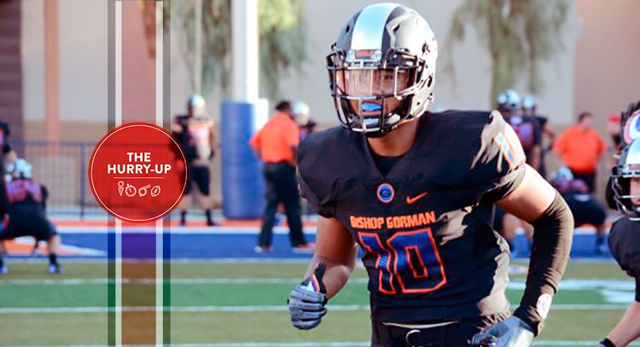 The Hurry Up 2017 Commits Overshadow Bishop Gorman Linebacker Elite Corner Chooses South