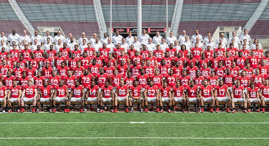 The 2014 Ohio State University football team.