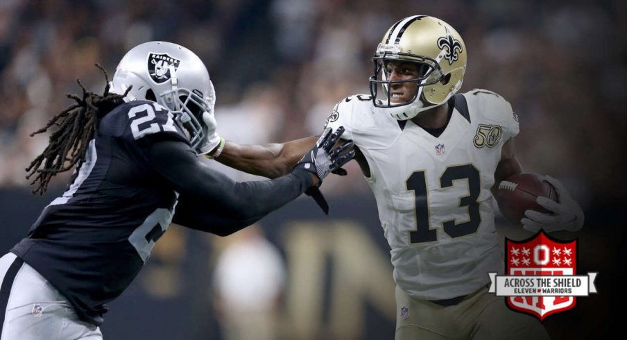 Michael Thomas shines in his NFL debut.