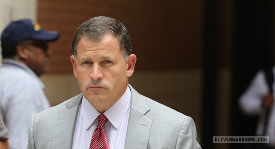 Greg Schiano reportedly injured a bicyclist.