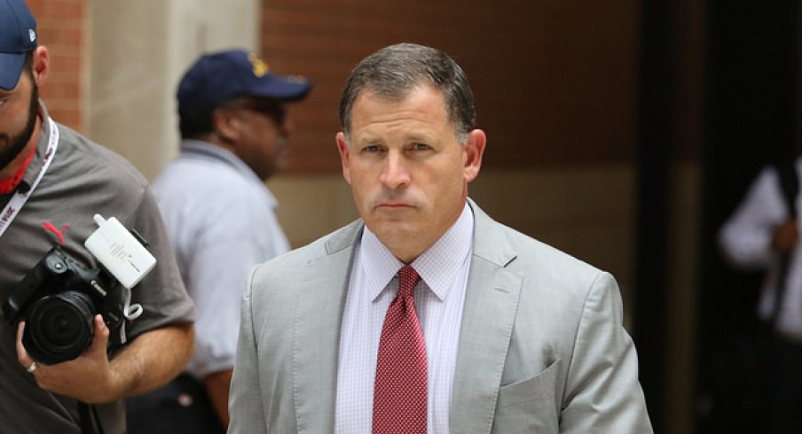 Greg Schiano cited for his role in collision.