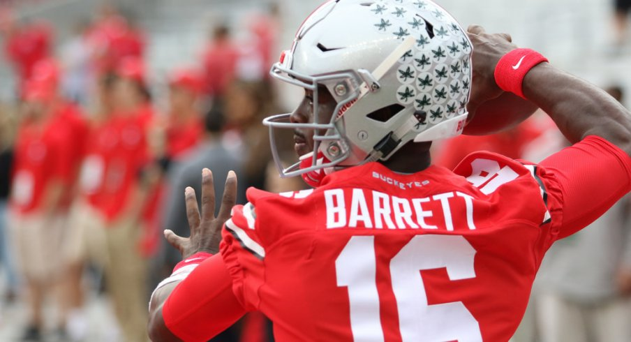 finest selection fd882 a0e29 J.T. Barrett Sets New Ohio State Record With 89 Career ...