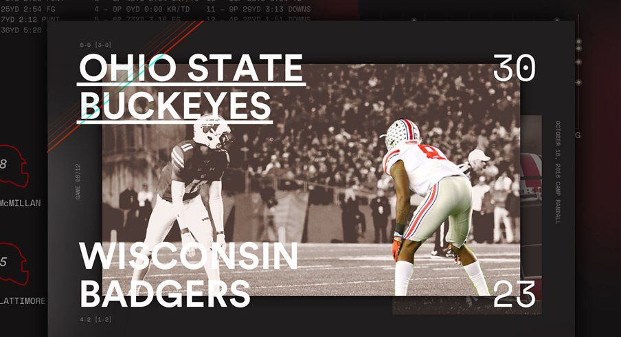 Ohio State Wisconsin Infographic Header