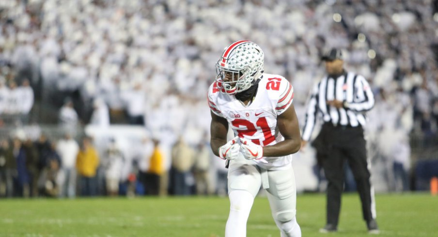 Parris Campbell and numerous other Buckeye wideouts aren't consistently playing at a championship level right now