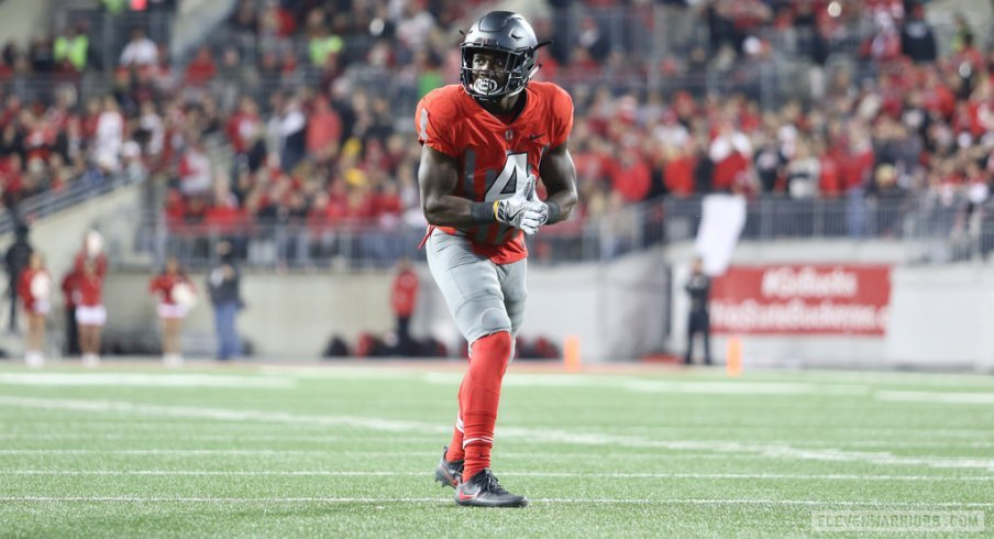 Curtis Samuel racked up 178 yards and two scores on 13 touches.