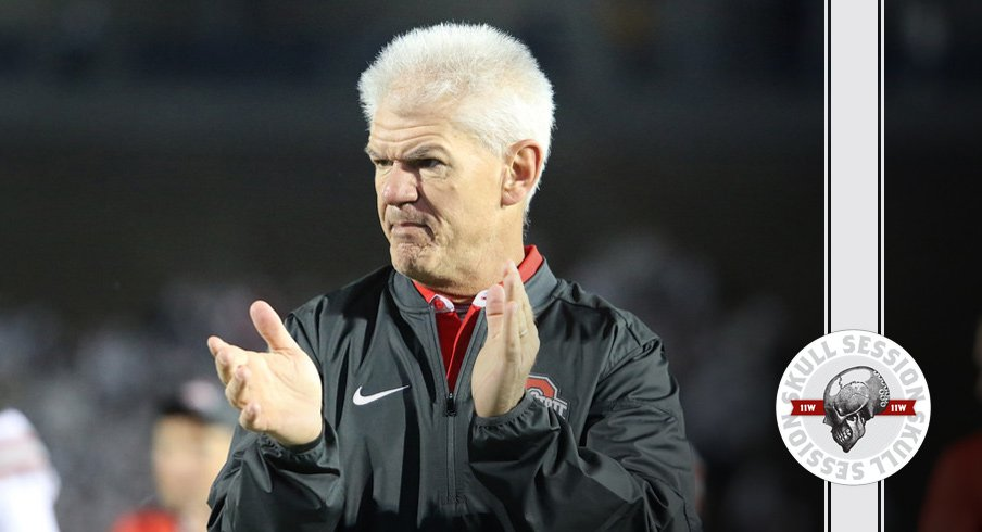 Kerry Coombs puts two hands together for the November 11th 2016 Skull Session.