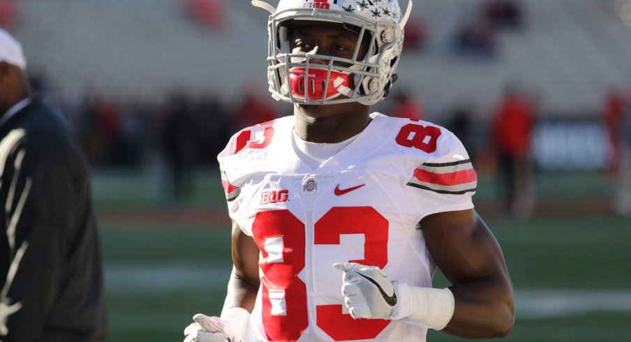 Ohio State wide receiver Terry McLaurin