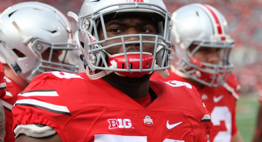 Ohio State defensive end Tyquan Lewis.