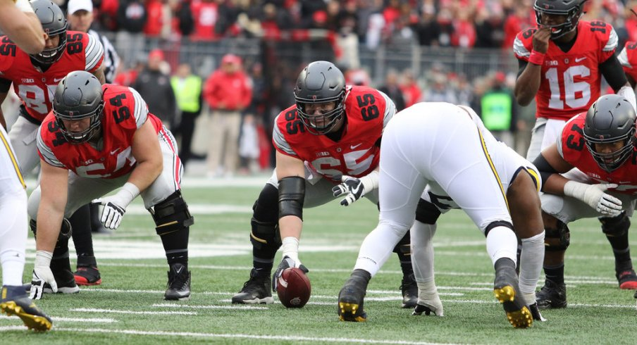 Three Ohio State offensive players made first-team All-Big Ten on Wednesday.