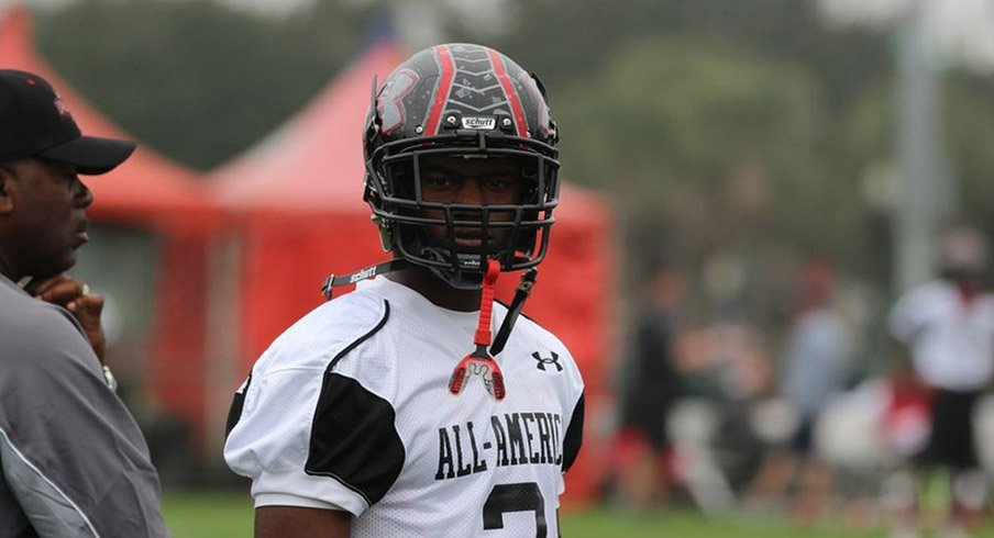 Dontre Wilson at Under Armour All-American Game practice.