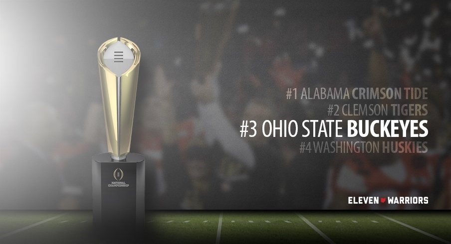 Ohio State headed to the 2016 College Football Playoff.