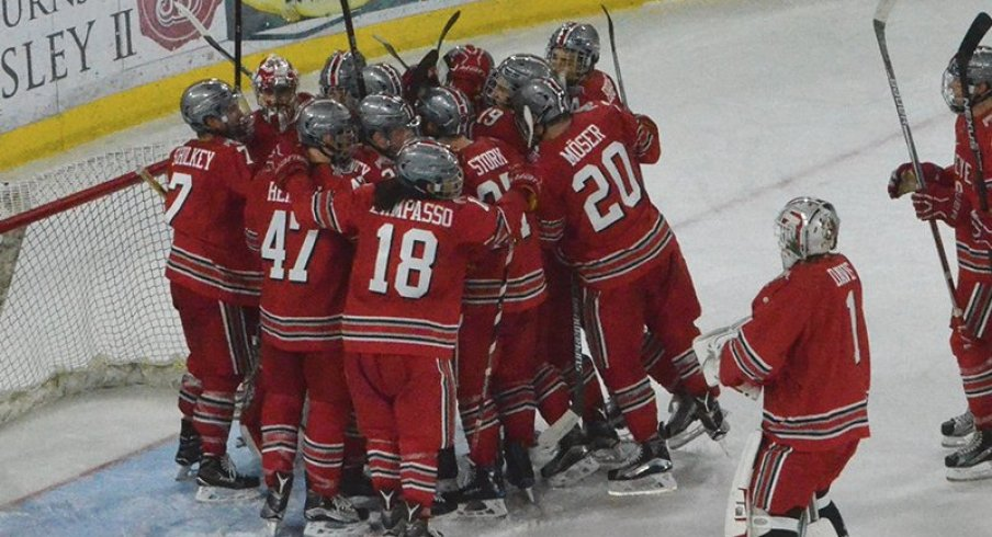 BIG10: Gophers Drubbed 8-3 By Ohio State - Buckeyes Registered 26 Shots On Goal...