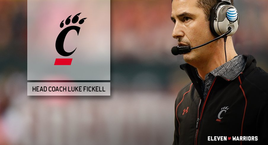 Ohio State co-defensive coordinator Luke Fickell will be the next coach of the Cincinnati Bearcats.