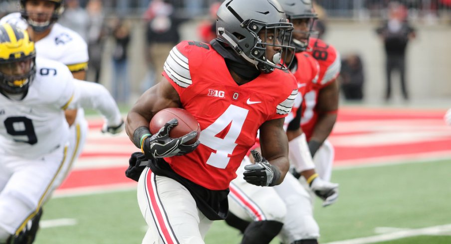 Curtis Samuel, Pat Elflein and Malik Hooker named first team All-Americans by the Associated Press.