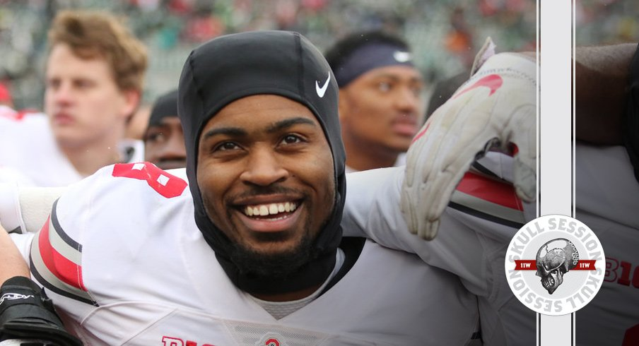 Ohio State's Gareon Conley sings Carmen Ohio for the December 14th 2016 Skull Session