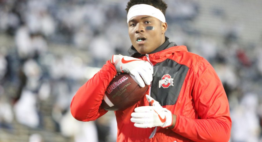 Dwayne Haskins is playing Clemson's Deshaun Watson on Ohio State scout team during bowl practice and thriving.