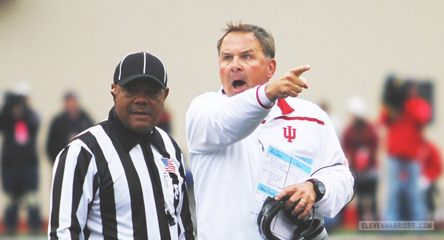Former Indiana head coach Kevin Wilson has been added to Ohio State's quality control staff.