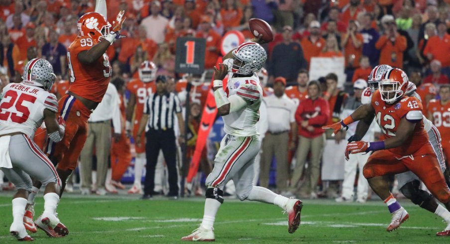 Ohio State S Offensive Limitations Exposed By Clemson In Fiesta Bowl