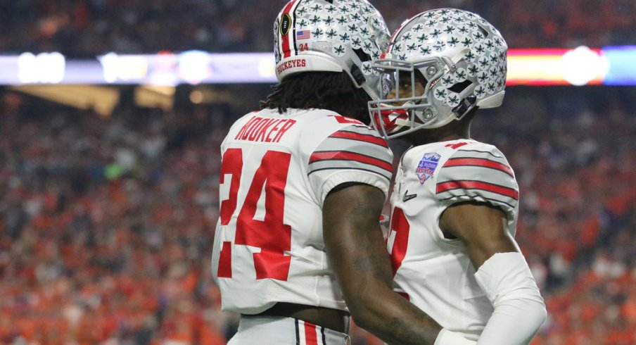 Ohio State's Malik Hooker and Denzel Ward.