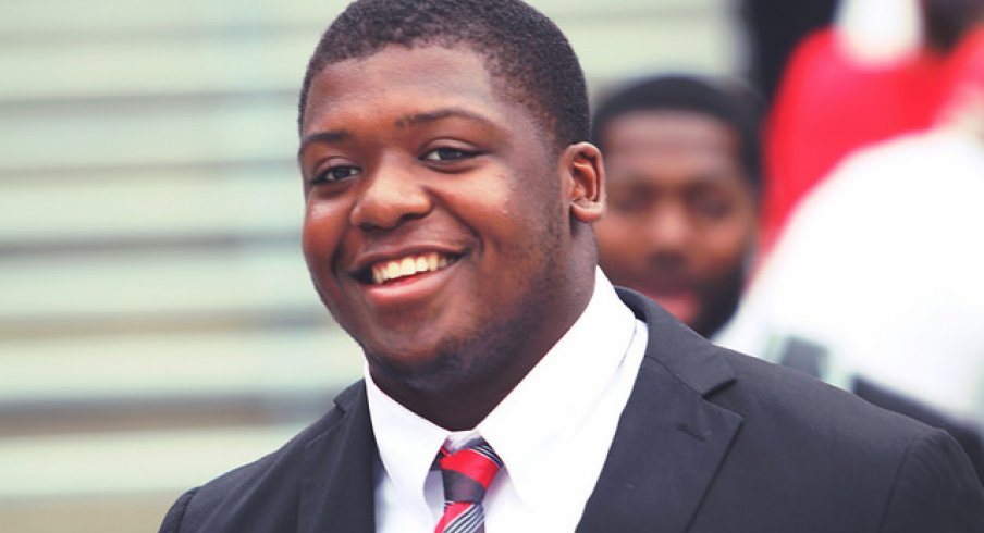 Ohio State offensive tackle Jamarco Jones to return for senior season.