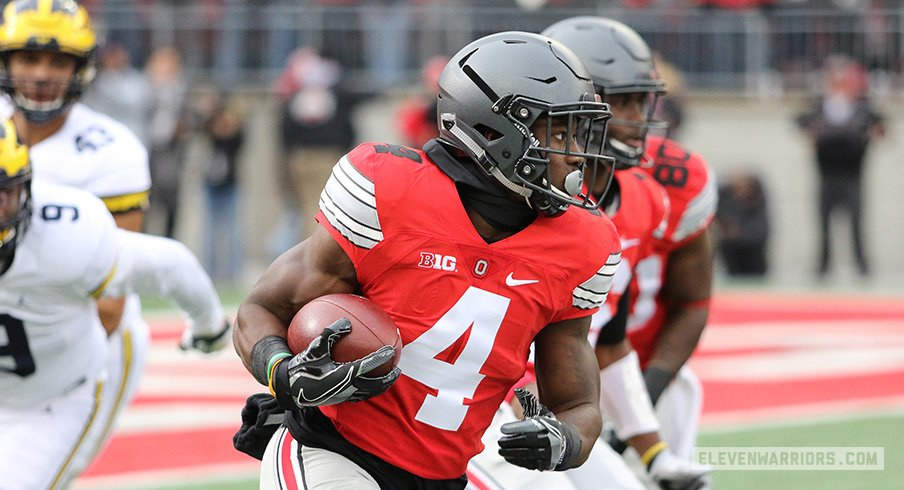 Ohio State H-back Curtis Samuel to enter the 2017 NFL Draft.
