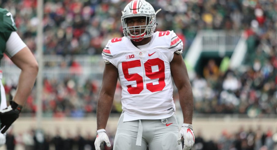 Ohio State defensive end Tyquan Lewis announced his intentions to enter the 2017 NFL Draft.