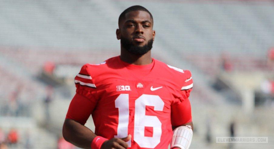 Ohio State quarterback J.T. Barrett will return for his senior season.
