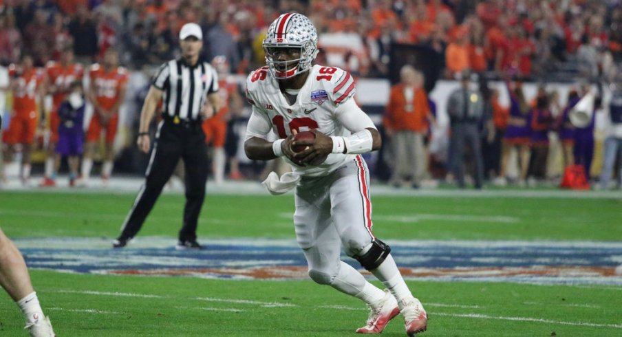 Looking at J.T. Barrett's position in the Ohio State record books with the news that he plans to return for his senior year.