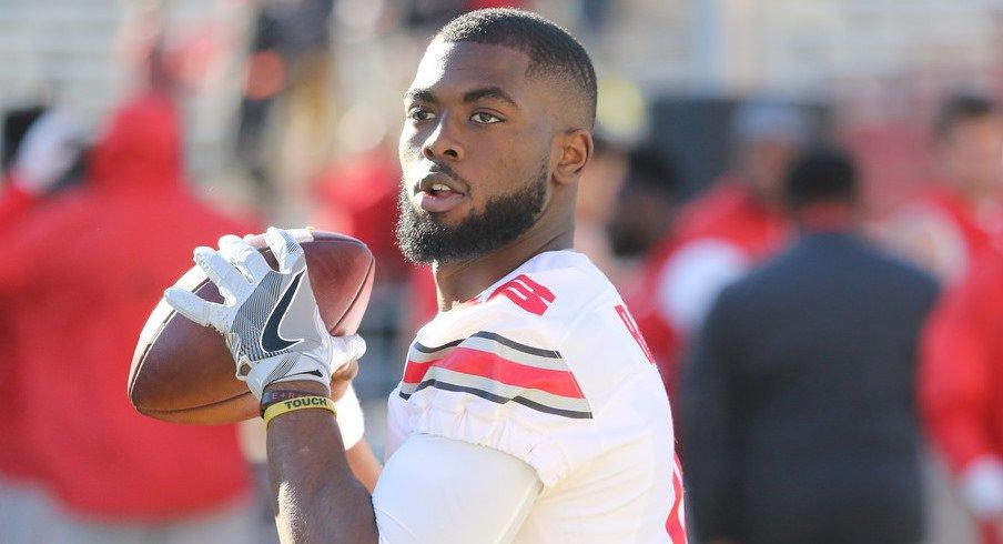Ohio State quarterback J.T. Barrett is returning for his fifth season.