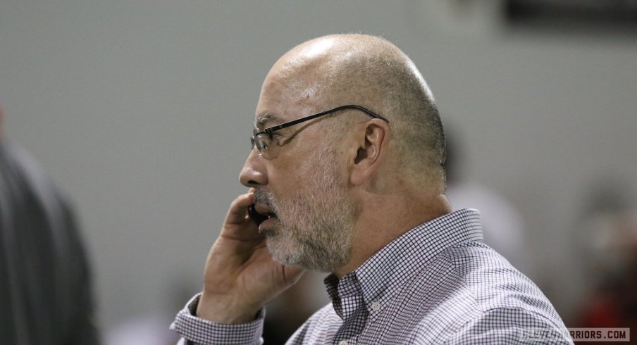 Ohio State Sports Information Director Jerry Emig has had a busy week.