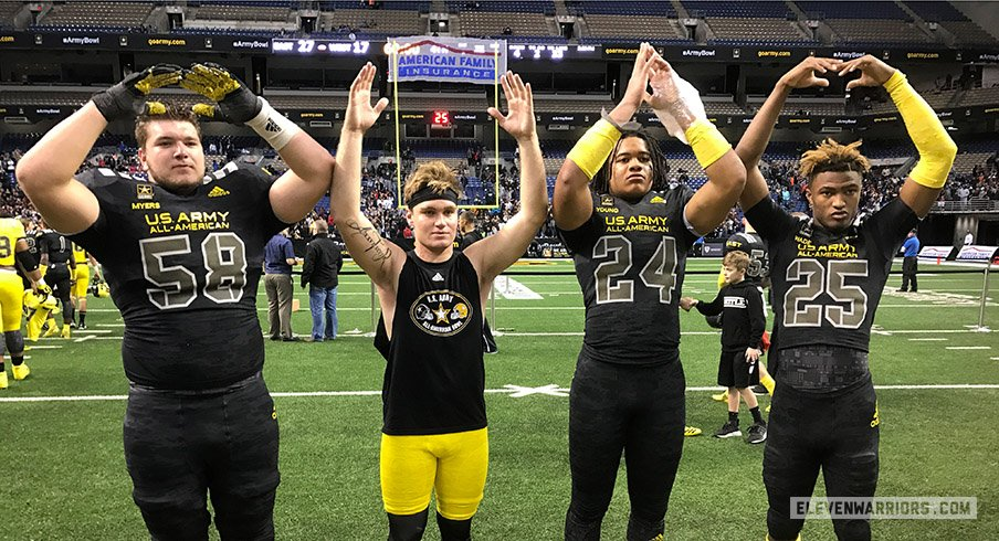 Nine players enrolled at Ohio State from its 2017 recruiting class. Looking at the chances each could play this fall.