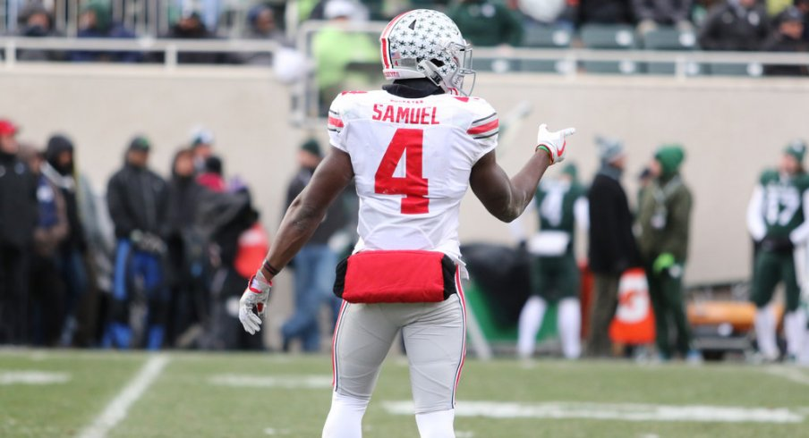 Curtis Samuel is the best H-back in Ohio State history.